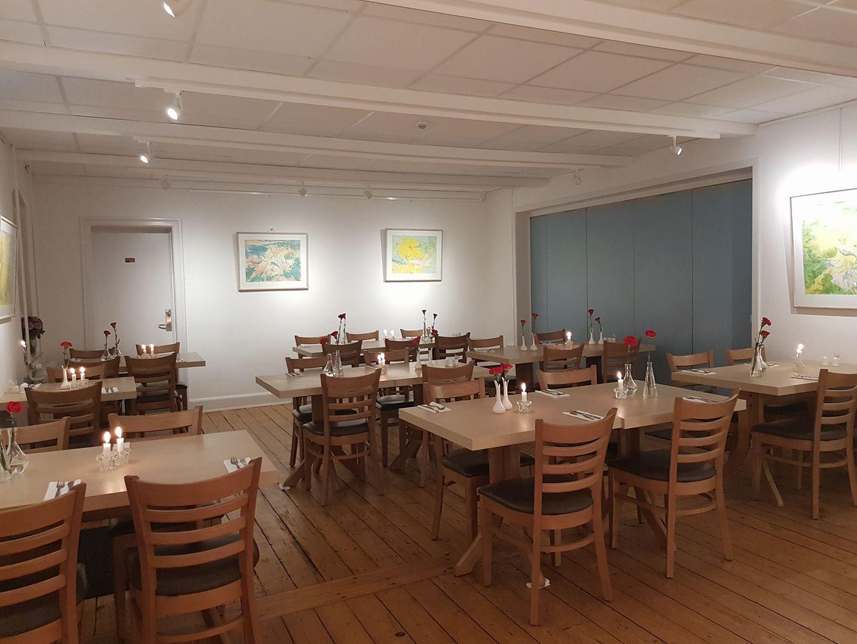 Den lille sal i Orø Forsamlingshus