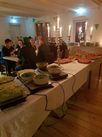 Irsk aften i Orø Forsamlingshus