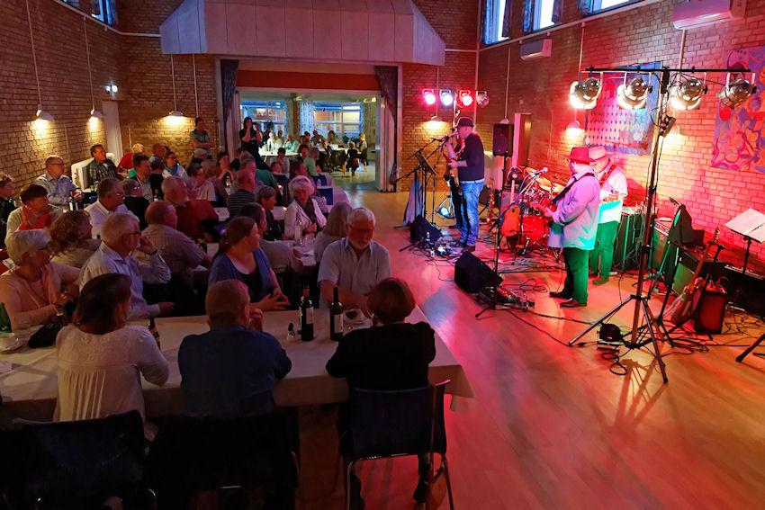 Møller's Blues Band i Orø Forsamlingshus